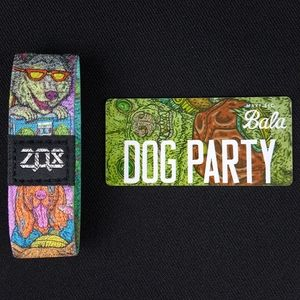 Zox - Dog Party - Wristband Strap